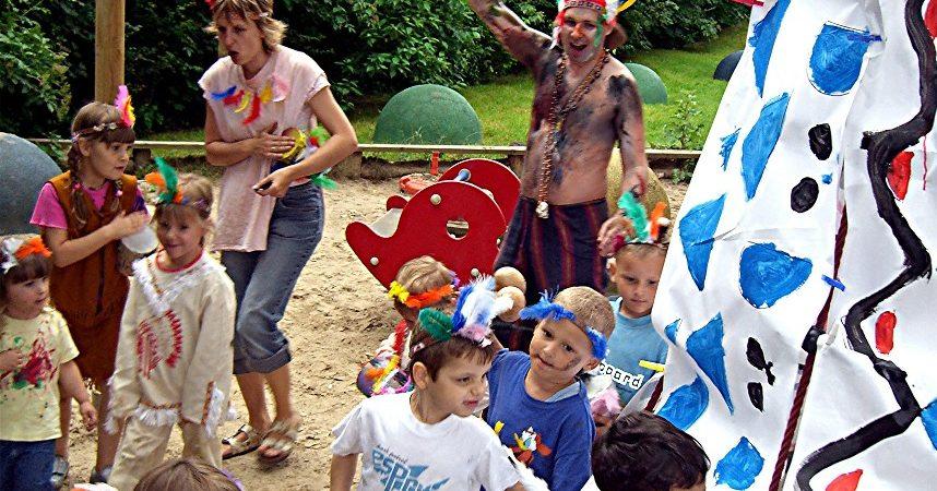 Indianerfest mit Pumajagd